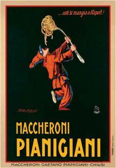 Maccheroni Pianigiani by Mauzan (1922)