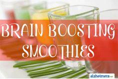 3 Brain-Boosting Smoothies