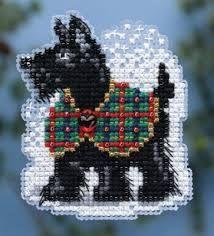 Image result for cross stitch scottie dog