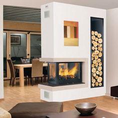 Sublime fire place decorating ideas for glamorous family - Decoration de cheminee avec insert ...