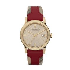 815ce983615 Burberry Classic Watch-BU9111 Leather Watch Bands