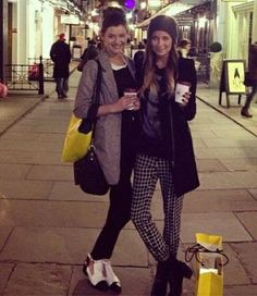 Eleanor and a friend ! :) x