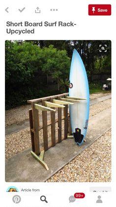 indoor surfboard rack