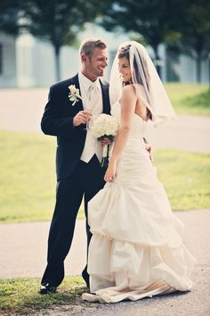 Real Bride and Groom http://yesidomariage.com - Conseils sur le blog de mariage