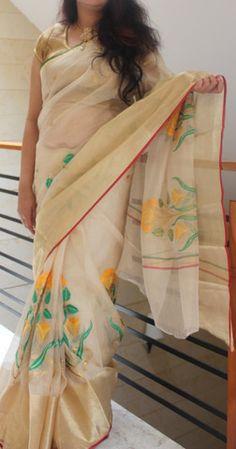 Kota embroidered sarees