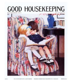 Good Housekeeping magazine cover, November 1921 Buy Good Housekeeping covers