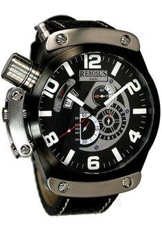 Rebosus 002RS Chronograph Black watch