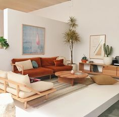 A minimalist living room creates a relaxing atmosphere for the entire family to enjoy and unwind. A minimalist living room creates a relaxing atmosphere for the entire family to enjoy and unwind. Home Living Room, Living Room Designs, Living Room Decor, Living Room Orange, Living Area, Home Decor Trends, Decor Ideas, Room Ideas, Minimalist Living