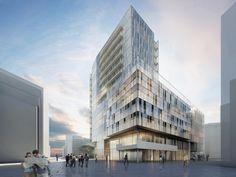 En el marco del plan de Meier Richard & Partners - una de las tres propuestas de la competencia - el sitio se convertirá en un lugar extraordinario para trabajar, vivir y relajarse en el barrio HafenCity.