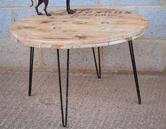detournement, bobine, chantier, touret, bois, vintage, table, bar, miroir, horloge, jardin, meuble