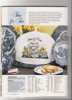 Time for Tea with Sunflowers. Gallery.ru / Фото #45 - Выбираю накрывашку - livadika