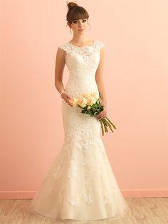 Allure Bridals 2864, $899 Size: 10 | New (Un-Altered) Wedding Dresses #wedding #mybigday