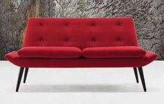 Canapé contemporain / en tissu / 2 places MIAMI : 333 by Katerina Zachariades Morgan Furniture