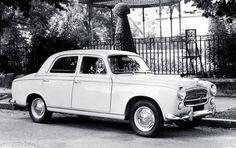 Peugeot 403  Saloon. 1955 - 1965