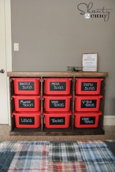 I'm so excited for us to make this!!!! DIY Toy Storage