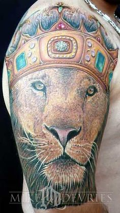 Lion King by Mike Devries - not for me but totally amazed by his skill