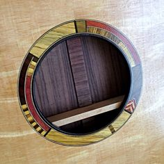 Acoustic Guitar Rosette in Progress