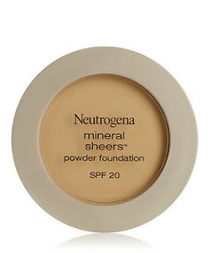 Neutrogena Mineral Sheers Powder Foundation is a Drugstore Dupe for MAC Mineralize Skinfinish