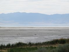 The Great Salt Lake.  We didn't stay long...it smelled awful!