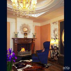 Дизайн гостиной: интерьер, квартира, дом, гостиная, ар-деко, 20 - 30 м2 #interiordesign #apartment #house #livingroom #lounge #drawingroom #parlor #salon #keepingroom #sittingroom #receptionroom #parlour #artdeco #20_30m2