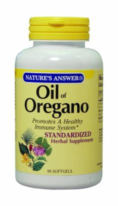 Oil of Oregano - antimicrobial