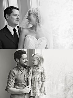 Get ready for this heart-melting moment: Two Years After Losing His Wife To Cancer, A Man Re-Created His Wedding Photos With Their Young Daughter