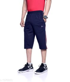 Checkout this latest Shorts Product Name: *Zeffit Comfy Cotton Sports Men's Short* Fabric: Cotton  Size: L - 32 in XL - 34 in XXL - 36 in Length: Up To 20 in Type: Stitched Description: It Has 1 Piece Of Men's 3/4th capris Short Pattern: Solid Country of Origin: India Easy Returns Available In Case Of Any Issue   Catalog Rating: ★4 (2665)  Catalog Name: Zeffit Stylo Comfy Cotton Sports Mens Shorts Vol 5 CatalogID_261415 C69-SC1213 Code: 913-1978860-807