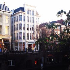 I love this white building along the Oudegracht