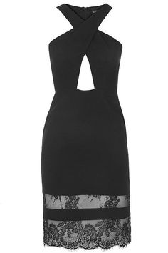 Topshop Halterneck Bodycon Dress ($75)
