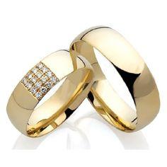 Aliança de ouro, casamento e noivado Catanduva
