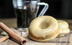 Spice Donuts with Maple Glaze