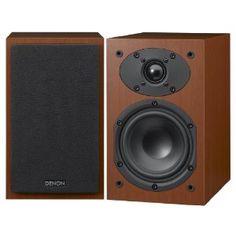 Denon SC-M39 Regallautsprecher (60 Watt, Paar, Bassreflex) Kirsche: Amazon.de: Audio & HiFi