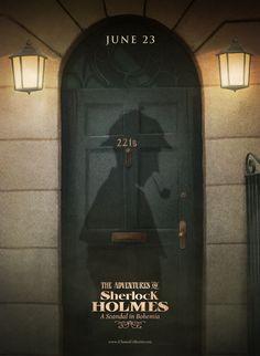 We love (i)Classics Sherlock Bbc, Sherlock Poster, Detective Sherlock Holmes, Watson Sherlock, Sherlock Holmes Book, Martin Freeman, Benedict Cumberbatch, A Scandal In Bohemia, Apple Store