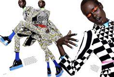 elle brazil sept 2015 | World Country Magazines: Model @ Ajak Deng - Elle US September 2015