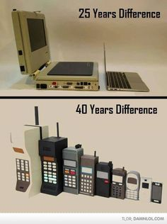 Evolution Of Laptops And Cellphones - Damn! LOL