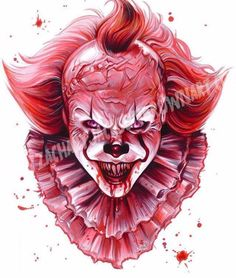 Pennywise by Zachary Jackson Brown #StephenKing #Pennywise #Itmovie @itmovieofficial  #horror