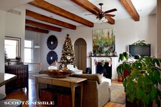 Kim's Makeover: Adding a stencil to a rug   Scout and Nimble