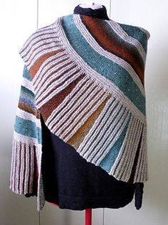 Spokes Shawl pattern from Ravelry