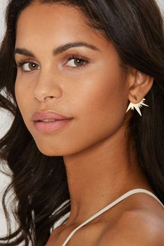 Wren + Glory Burst Things First 18K Gold Jacket Earrings | Shop Accessories at Nasty Gal!