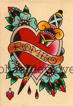 #tattoo #old-school #palavras