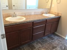 CBH Homes Dual sink option for Monterey 2100