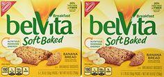 Nabisco Belvita Soft Baked Banana Bread Flavored Breakfast Biscuits, 5 packs - 1.76 oz. ea., (Pack of 2) - http://sleepychef.com/nabisco-belvita-soft-baked-banana-bread-flavored-breakfast-biscuits-5-packs-1-76-oz-ea-pack-of-2/