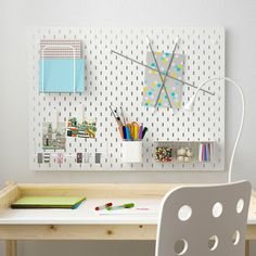 Ikea Skadis: This Product Will Instantly Organize Any Room Ceiling Storage, Wall Storage, Paper Storage, Craft Storage, Ikea Skadis, Ikea Wall, Ikea Bed, Ikea Pegboard, White Pegboard