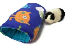 Guinea pig bed, guinea pig tunnel, guinea pig hideout, rat, ferret, cozy cup, small pet bed, guinea pig cozy, guinea pig pocket, cuddle cup by CreatedbyLauraB on Etsy