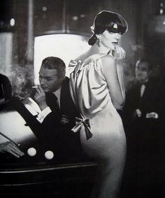 Carmen Dell'Orefice by Richard Avedon~ Oct. 1957 Bazaar Magazine.