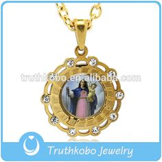 Delicate Gold-Plated Virgin And Her Son Islamic Muslim Religious Gifts For Renaissance