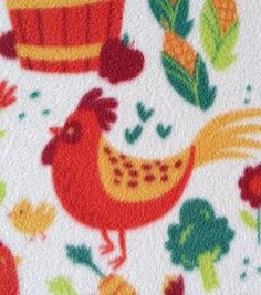 Rural Fabric- Whimsy Farm Fleece Online Craft Store, Craft Stores, Fleece Projects, Joann Fabrics, Fabric Material, Fabric Crafts, Kids Rugs, Scrapbook, Quilts