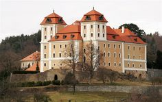 Valeč baroque castle (North Bohemia), Czechia