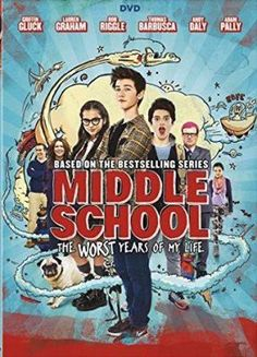 Cover image for Middle school [videorecording (DVD)] : the worst years of my life