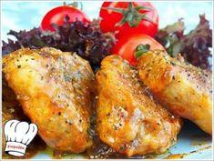 ΨΑΡΟΝΕΦΡΙ ΣΤΟ ΤΗΓΑΝΙ ΜΕ ΠΕΤΙΜΕΖΙ!!! - Νόστιμες συνταγές της Γωγώς! Tandoori Chicken, Turkey, Meat, Ethnic Recipes, Food, Turkey Country, Essen, Yemek, Meals